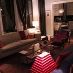 Living Room - View of Grey Sofa