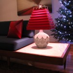 Marble Table That's Part of Sofa